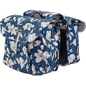 Basil Magnolia Gepäckträger Doppel-Tasche 35l teal blue